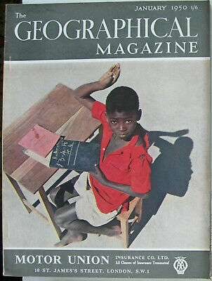 The Geographical Magazine, January 1950