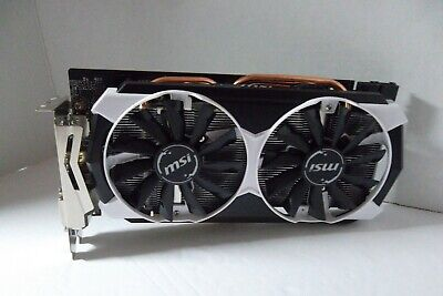 MSI AMD RADEON R9 390 8GB HEATSINK HOUSING AND FANS ONLY NO