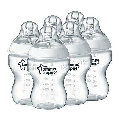 Tommee Tippee Closer to Nature Bottles - 260ml (Pack of 6)