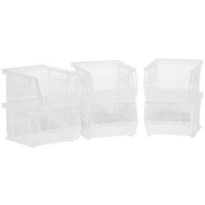 Akro-Mils 08212Sclar 30210 Plastic Storage Stacking AkroBins for Craft an... New