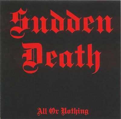 Sudden Death  – All Or Nothing 1987 (CD Album, MPB Records – CD 1250876)