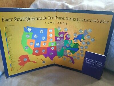 Quarter Map Of The United States on