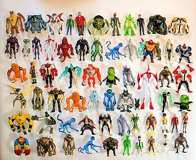 Ben 10 Action Figures 10cm -CHOICE of Ultimate, Alien Force, Omniverse, Haywire