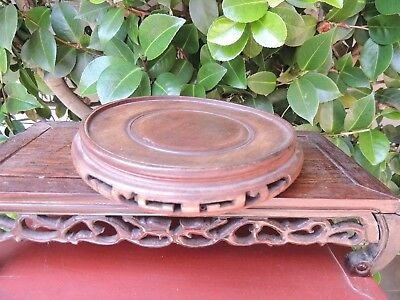 #12. Antique Japanese hand carved wood stand