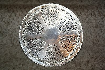 Nickel Silver BRS Sheffield Apollo Footed Raised Plate
