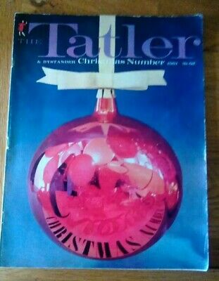 Tatler magazine Christmas issue 1961