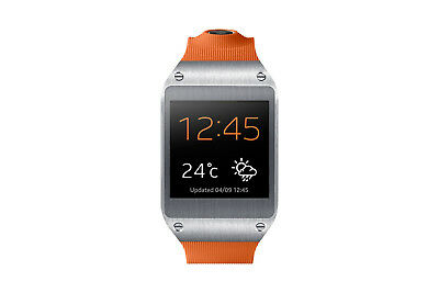 Samsung Galaxy Gear in Orange Smartwatch Dummy Attrappe - Requisit, Werbung