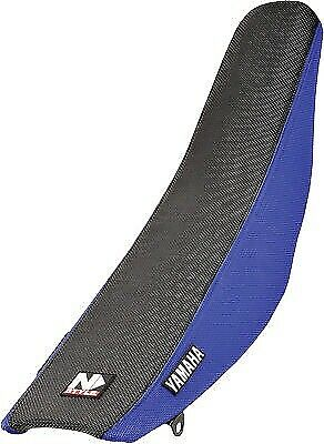 Factory Issue 3 Panel Grip Seat Cover N-Style Blue/Black N50-6013 For YZ125/250
