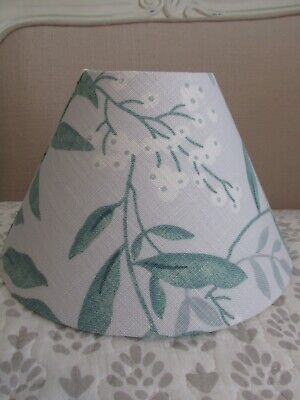 Handmade Candle Clip /& Coolie Lampshade Laura Ashley Hydrangea Berry Pink fabric