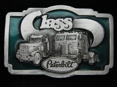 Rb03140 Vintage 1978 **Peterbilt Class** Truck Company Belt Buckle