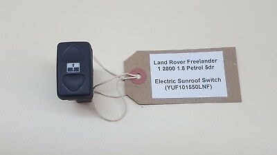 Land Rover Freelander 1 2000 1.8 5dr Electric Sunroof Switch (YUF101550LNF)