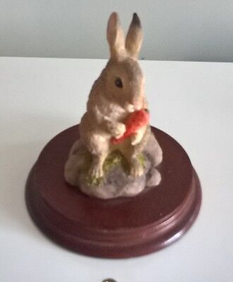 Rabbit Figurine Nature Studies Collection by Leonardo Decorative Ornament