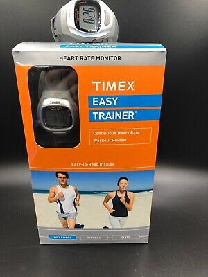 Timex Easy Trainer Heart Rate Monitor Watch NIB Plus Bonus Extra Working Watch