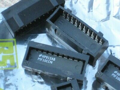 MF10CCN Switched Capacitor Filter IC - National Semiconductor - ref: RS 302-407
