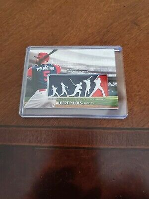 00a9631d9 Albert Pujols - 2018 Topps Players Weekend Logo Patch Card  PWP-AP Angels