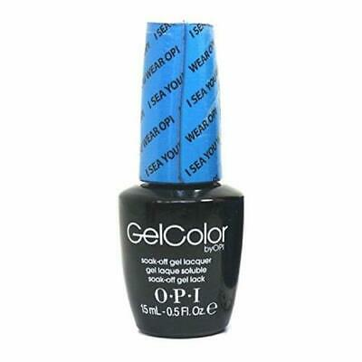 OPI GelColor Soak-Off Gel Lacquer Nail Polish, I Sea You Wear OPI