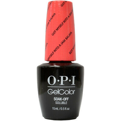 OPI GelColor Soak-Off Gel Lacquer Nail Polish, Got Myself Into A Jam-balaya