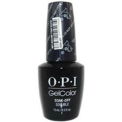 OPI GelColor Soak-Off Gel Lacquer Nail Polish, Black Dress Not Optional