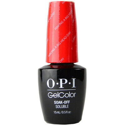 OPI GelColor Soak-Off Gel Lacquer Nail Polish, Having A Big Head Day