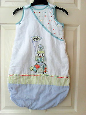 Boy's Girl's Unisex Baby Sleeping Bag Grobag Mothercare 0-6 Months 2.5 Tog Vgc