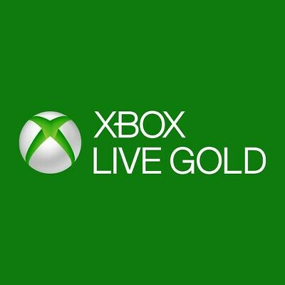 Xbox live 12 month gold membership (on a paper gift card)