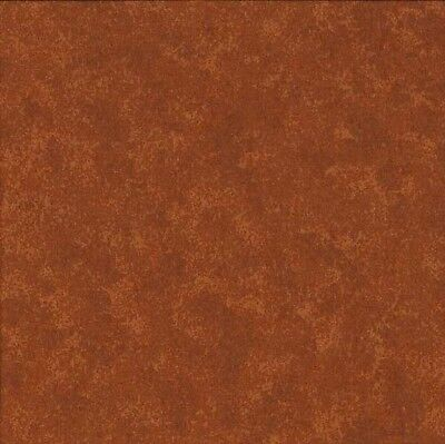 Coupon Tissu Patchwork Makower Spraytime, Faux-uni brun marron 45*55 cm V54