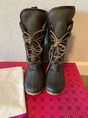 d18d009309b3 Tory Burch Argyll Lace Up Boots Size 6 New In Box