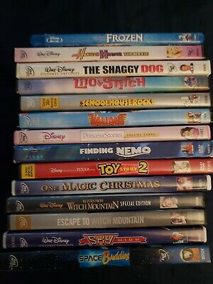 LOT 14 WALT DISNEY DVD MOVIE COLLECTION Frozen*Finding Nemo*Toy Story 2 & more