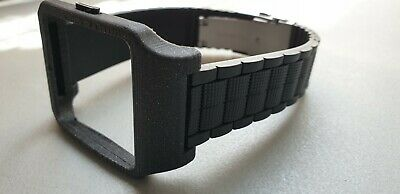 Sony SmartWatch 3 SWR50 Black Housing (Adapter) & Pattern 1 Strap with Clasp