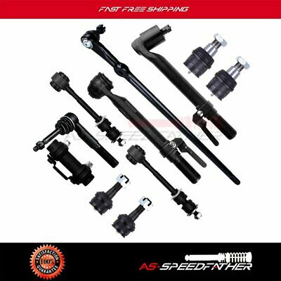 11pc Kit Tie Rod End Drag Link Ball Joint Sway Bar Link for Super Duty 4WD