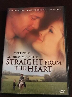 Straight From the Heart (DVD, 2007) Patricia Kalember, Greg Evigan OOP MINT