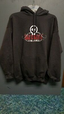 VTG Good Charlotte Pull-Over Hoodie - XL the Young & the Hopeless - MADE 2000's