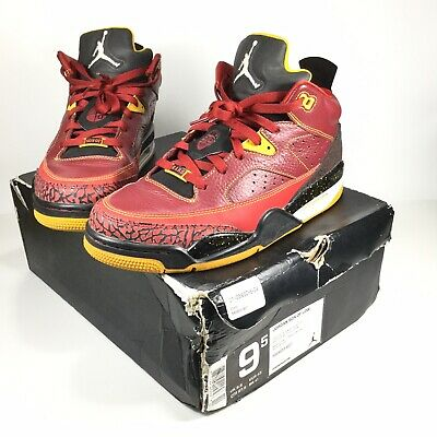 huge selection of b401a 3c65d Air Jordan Son Of Mars Low Size 9.5 Team Red White University Gold 580603- 607