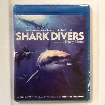 Shark Divers Blu Ray Disc 2009 New & Sealed FREE SHIPPING Check Out Other Sales