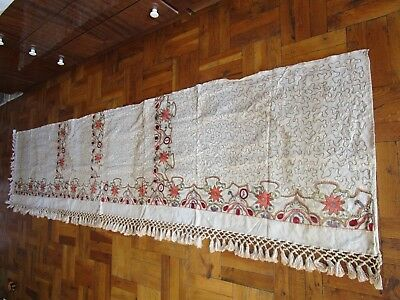 Ottoman Empire, Islamic Veil, 18th Century, Sarmas, Hand Embroidery, Puglia, RRR