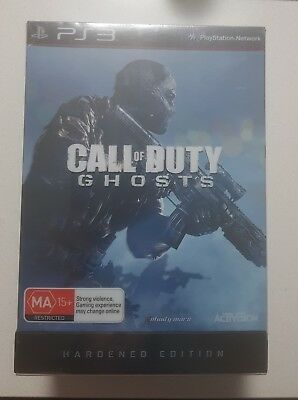 PlayStation 3 PS3 Game Call of Duty Ghosts Hardened Edition New Sealed