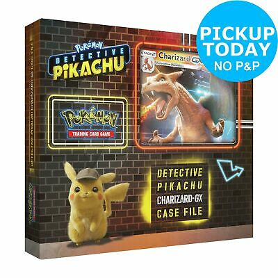 Pokemon Detective Pikachu Charizard GX Trading Card Game