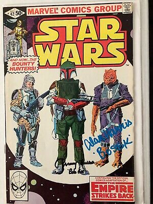 Star Wars #42 (First Appearance Of Boba Fett) Double Signed