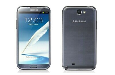 Samsung Galaxy Note 2 in Grau Handy Dummy Attrappe - Requisit, Deko, Werbung