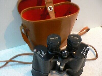SILRAFT COATED OPTICS 12x50 BINOCULARS & CASE - EXCELLENT CONDITION - Japan Made