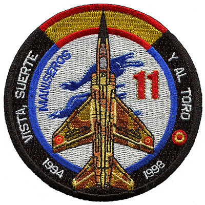 Parche Mirage F-1 Ejército del Aire España Spanish Air Force Military Patch Army