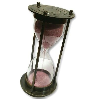 Antiques Vintage Simple And Old Stylish Antique Look Sand Timer Hourglass ST 010