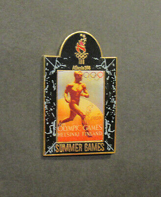 Commemorative Historical Pin Atlanta Summer Olympics Melbourne 1956