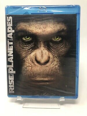 RISE OF THE PLANET OF THE APES  (Blu-ray Disc, 2011) Seal Slightly Torn
