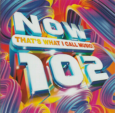 Now Thats What I Call Music 102 Double Cd Album - Released 12Th April 2019 - New
