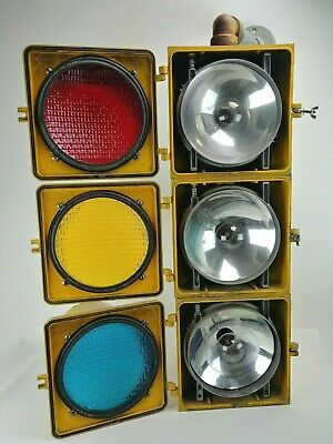 Vintage Traffic Stop Light Red Yellow Green Crouse Hinds Syracuse NY