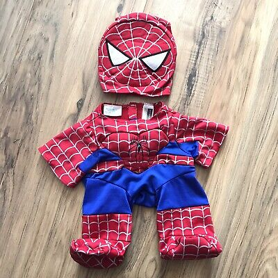 Build a Bear Workshop Ultimate Spider-Man Costume Gloves Marvel Comics Brand New