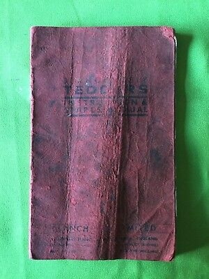 Agriculture/farming British Lely Haymax Rare Collectors Vintage Parts Operator Manual