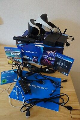 Sony PlayStation VR - Brille Worlds Starter VR Headset Bundle PS 4