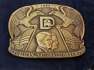 1984 Republican National Convention Belt Buckle Limited Edition